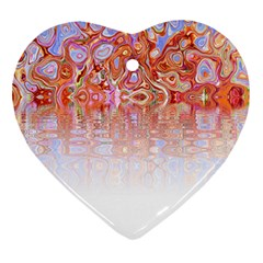 Effect Isolated Graphic Heart Ornament (two Sides) by Nexatart