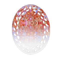 Effect Isolated Graphic Oval Filigree Ornament (two Sides)