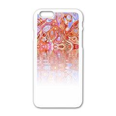 Effect Isolated Graphic Apple Iphone 6/6s White Enamel Case