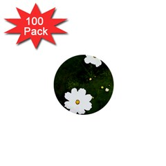Daisies In Green 1  Mini Buttons (100 Pack)