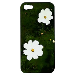 Daisies In Green Apple Iphone 5 Hardshell Case by DeneWestUK