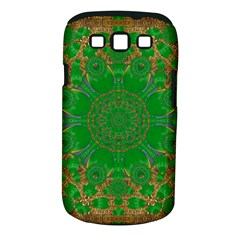 Summer Landscape In Green And Gold Samsung Galaxy S Iii Classic Hardshell Case (pc+silicone) by pepitasart