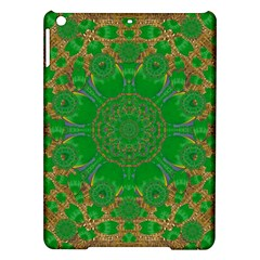Summer Landscape In Green And Gold Ipad Air Hardshell Cases by pepitasart