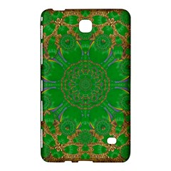 Summer Landscape In Green And Gold Samsung Galaxy Tab 4 (7 ) Hardshell Case  by pepitasart