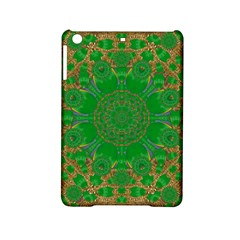 Summer Landscape In Green And Gold Ipad Mini 2 Hardshell Cases by pepitasart