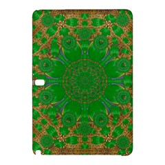 Summer Landscape In Green And Gold Samsung Galaxy Tab Pro 10 1 Hardshell Case by pepitasart