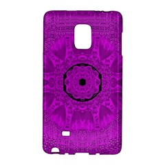 Purple Mandala Fashion Galaxy Note Edge by pepitasart