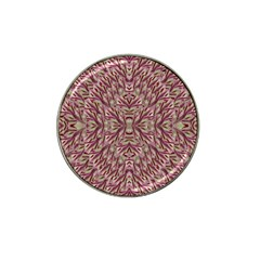 Mandala Art Paintings Collage Hat Clip Ball Marker by pepitasart