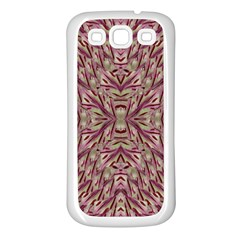 Mandala Art Paintings Collage Samsung Galaxy S3 Back Case (white) by pepitasart