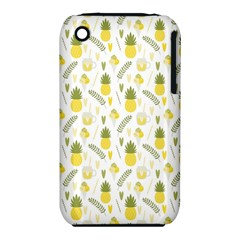 Pineapple Fruit And Juice Patterns Iphone 3s/3gs by TastefulDesigns