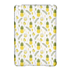 Pineapple Fruit And Juice Patterns Apple Ipad Mini Hardshell Case (compatible With Smart Cover) by TastefulDesigns