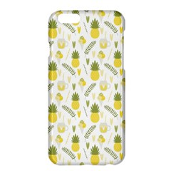 Pineapple Fruit And Juice Patterns Apple Iphone 6 Plus/6s Plus Hardshell Case by TastefulDesigns