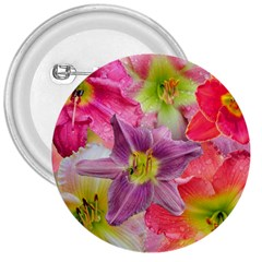 Wonderful Floral 22a 3  Buttons by MoreColorsinLife