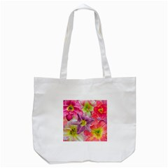 Wonderful Floral 22a Tote Bag (white) by MoreColorsinLife