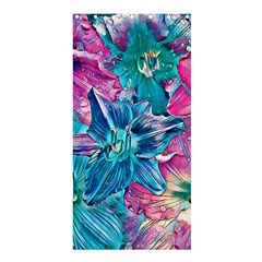 Wonderful Floral 22b Shower Curtain 36  X 72  (stall)  by MoreColorsinLife
