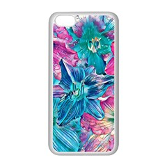 Wonderful Floral 22b Apple Iphone 5c Seamless Case (white) by MoreColorsinLife