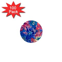 Wonderful Floral 22c 1  Mini Magnets (100 Pack)  by MoreColorsinLife