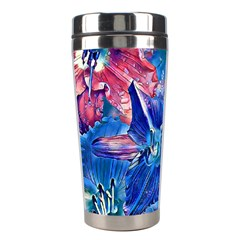 Wonderful Floral 22c Stainless Steel Travel Tumblers by MoreColorsinLife