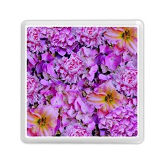 Wonderful Floral 24 Memory Card Reader (square)  by MoreColorsinLife