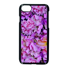 Wonderful Floral 24 Apple Iphone 7 Seamless Case (black) by MoreColorsinLife