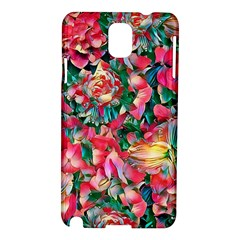 Wonderful Floral 24b Samsung Galaxy Note 3 N9005 Hardshell Case by MoreColorsinLife