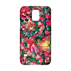 Wonderful Floral 24b Samsung Galaxy S5 Hardshell Case  by MoreColorsinLife