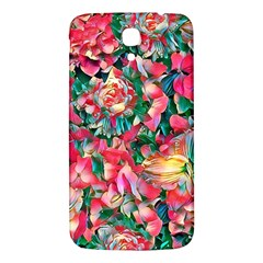 Wonderful Floral 24b Samsung Galaxy Mega I9200 Hardshell Back Case by MoreColorsinLife
