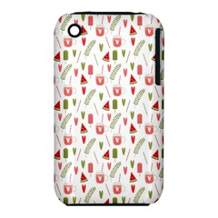 Watermelon Fruit Paterns Iphone 3s/3gs by TastefulDesigns