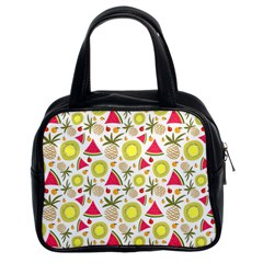 Summer Fruits Pattern Classic Handbags (2 Sides) by TastefulDesigns