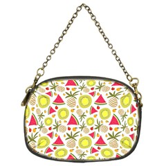 Summer Fruits Pattern Chain Purses (two Sides)  by TastefulDesigns