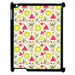 Summer Fruits Pattern Apple Ipad 2 Case (black) by TastefulDesigns