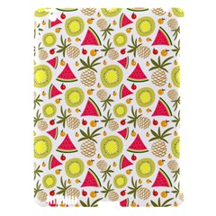 Summer Fruits Pattern Apple Ipad 3/4 Hardshell Case (compatible With Smart Cover) by TastefulDesigns