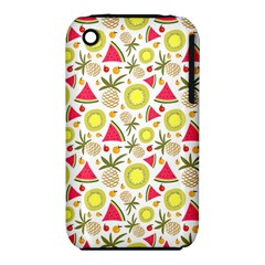 Summer Fruits Pattern Iphone 3s/3gs by TastefulDesigns