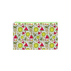 Summer Fruits Pattern Cosmetic Bag (xs) by TastefulDesigns