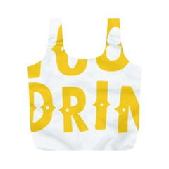 Cinco De Drinko Full Print Recycle Bags (m)  by CraftyLittleNodes