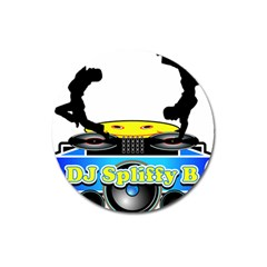 Dj Logo Transparent Magnet 3  (round) by Acid909