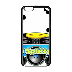 Dj Logo Transparent Apple Iphone 6/6s Black Enamel Case by Acid909
