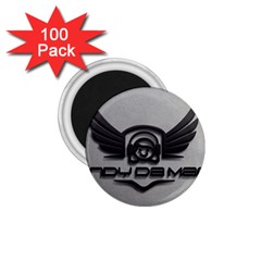 Andy Da Man 3d Grey 1 75  Magnets (100 Pack)  by Acid909