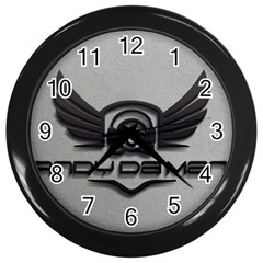 Andy Da Man 3d Grey Wall Clocks (black) by Acid909