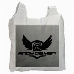 Andy Da Man 3d Grey Recycle Bag (two Side)  by Acid909