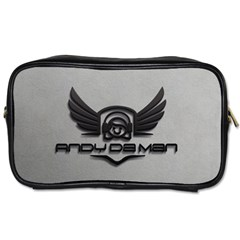 Andy Da Man 3d Grey Toiletries Bags 2 Side by Acid909