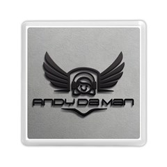 Andy Da Man 3d Grey Memory Card Reader (square)  by Acid909