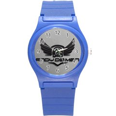 Andy Da Man 3d Grey Round Plastic Sport Watch (s)