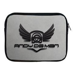 Andy Da Man 3d Grey Apple Ipad 2/3/4 Zipper Cases
