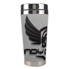 Andy Da Man 3d Grey Stainless Steel Travel Tumblers by Acid909