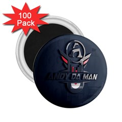 Andy Da Man 3d Dark 2 25  Magnets (100 Pack)  by Acid909