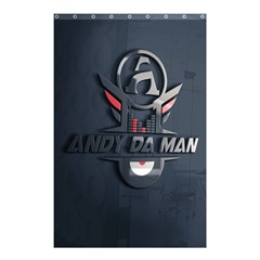Andy Da Man 3d Dark Shower Curtain 48  X 72  (small)  by Acid909