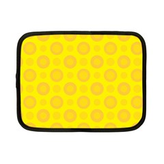 Cheese Background Netbook Case (small)