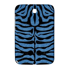Skin2 Black Marble & Blue Colored Pencil (r) Samsung Galaxy Note 8 0 N5100 Hardshell Case  by trendistuff