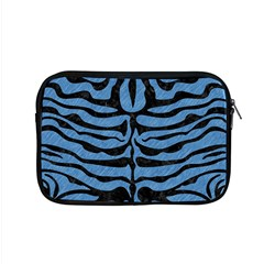 Skin2 Black Marble & Blue Colored Pencil (r) Apple Macbook Pro 15  Zipper Case by trendistuff
